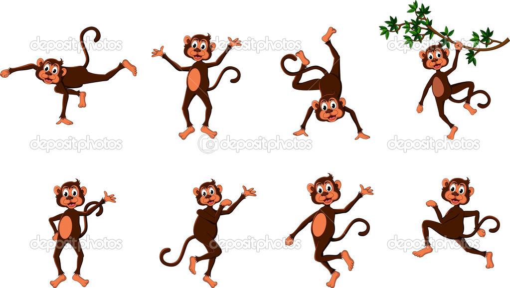 Hübsch komische Affe.