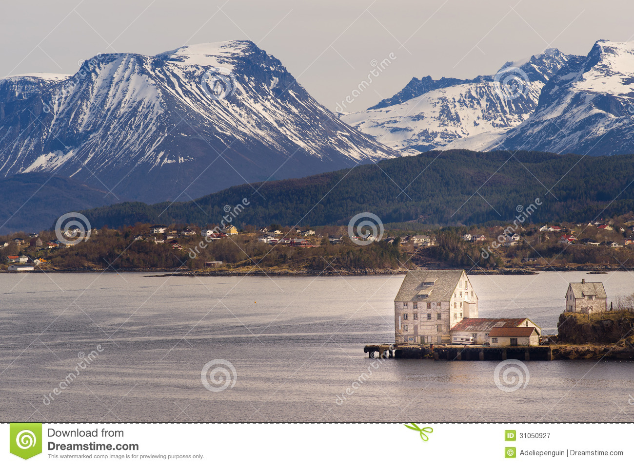 Alesund In Norway Royalty Free Stock Image.