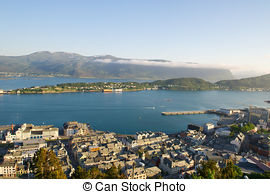 Stock Photography of Alesund, Norway.
