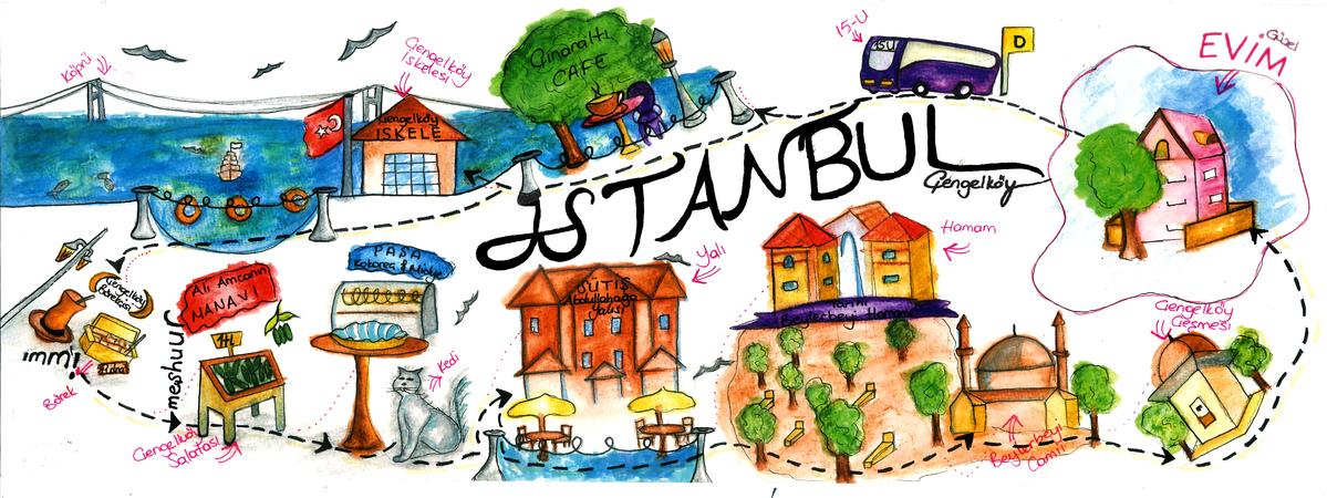 Çengelköy, Istanbul, Turkey by Merve Altınay MerveAltınay.
