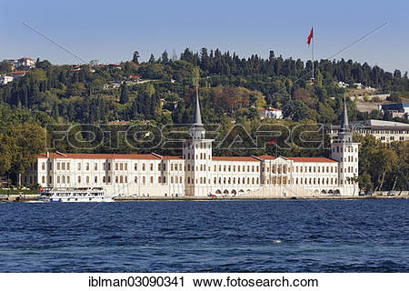 "Stock Photography of ""Kuleli Military High School on the Bosporus."
