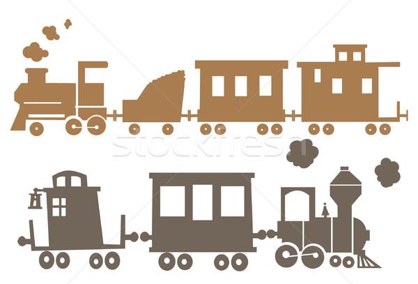 Train clipart vector illustration © Darko Veselinović (Darkves.