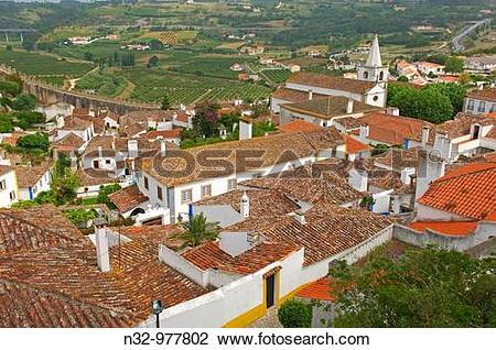 Stock Photo of Obidos, Leiria district, Portugal n32.