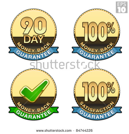 Approved Document S Corporation Golden Seal Stock Vector 83469481.