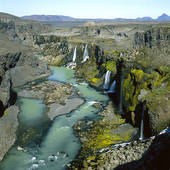 Picture of Olfusa River Iceland 1574r.