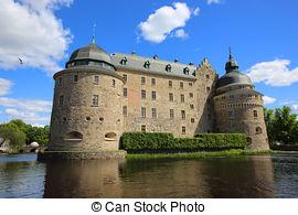 Stock Photos of Orebro Castle csp15132138.