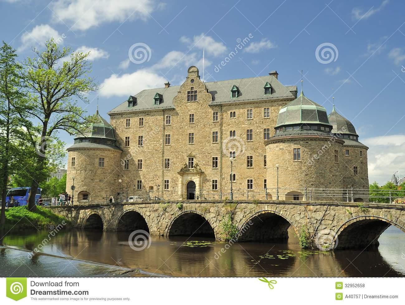 Örebro Castle Royalty Free Stock Photos.