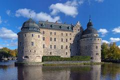 Orebro Castle, Sweden Stock Images.