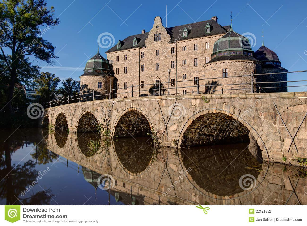 Orebro Castle, Sweden Stock Photography.
