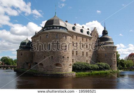 Sweden Castle Orebro Stock Photos, Royalty.