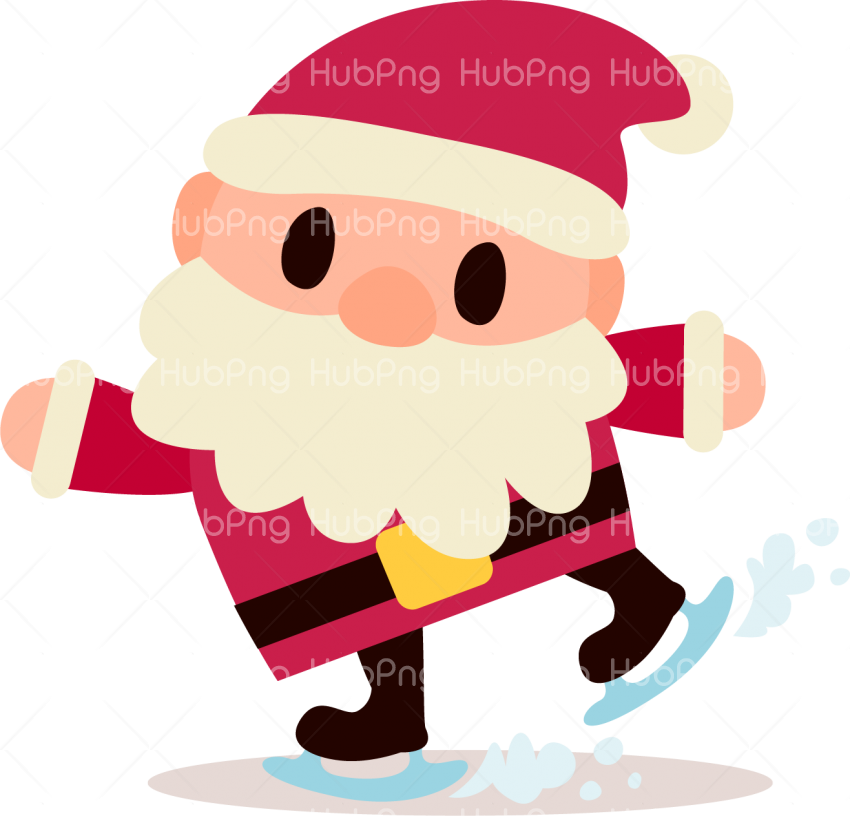 santa claus christmas png clipart HD Transparent Background.