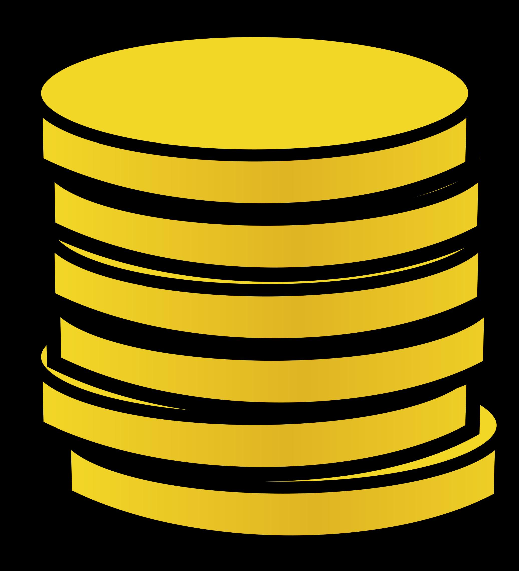 Clip Art Of Coins.