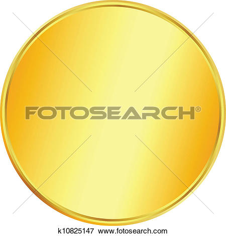 Clip Art of Thumb up coin k6923738.