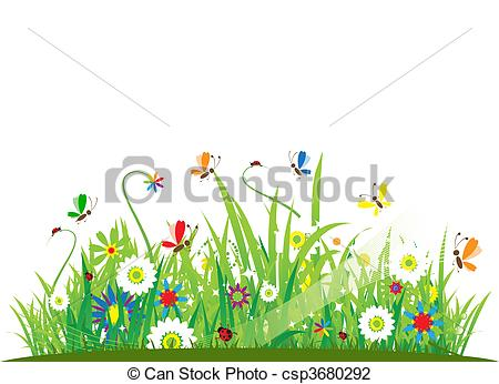 ' meadow clipart #18