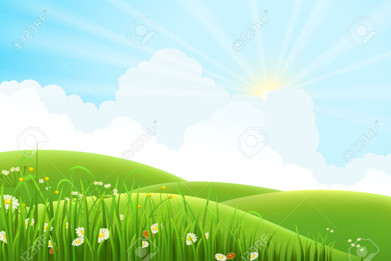 ' meadow clipart #14