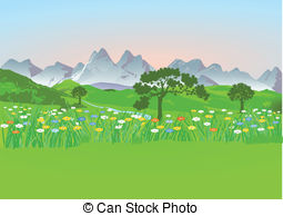 Meadow Clip Art.