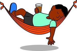 ' relaxing ' clipart #20