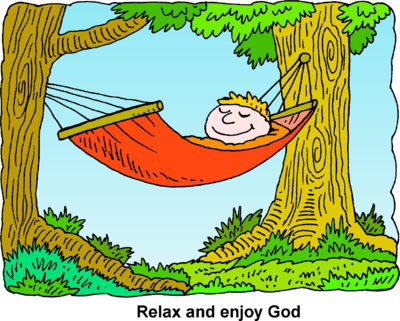 ' relaxing ' clipart #12