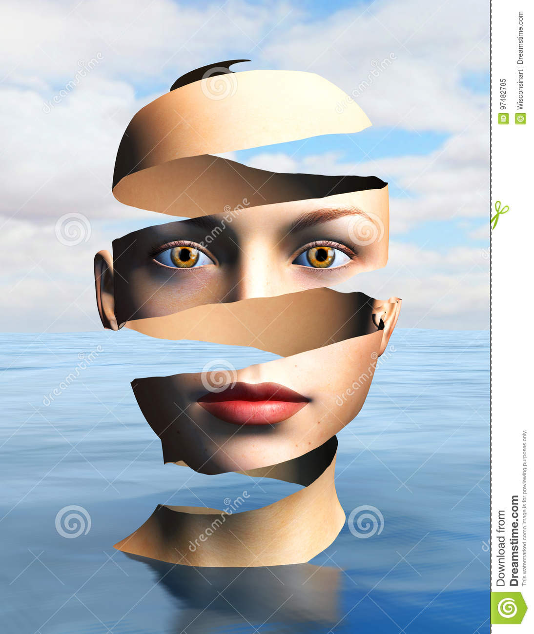 surrealism clipart