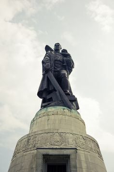 Soviet War Memorial in Treptower Park in Berlin, Germany.