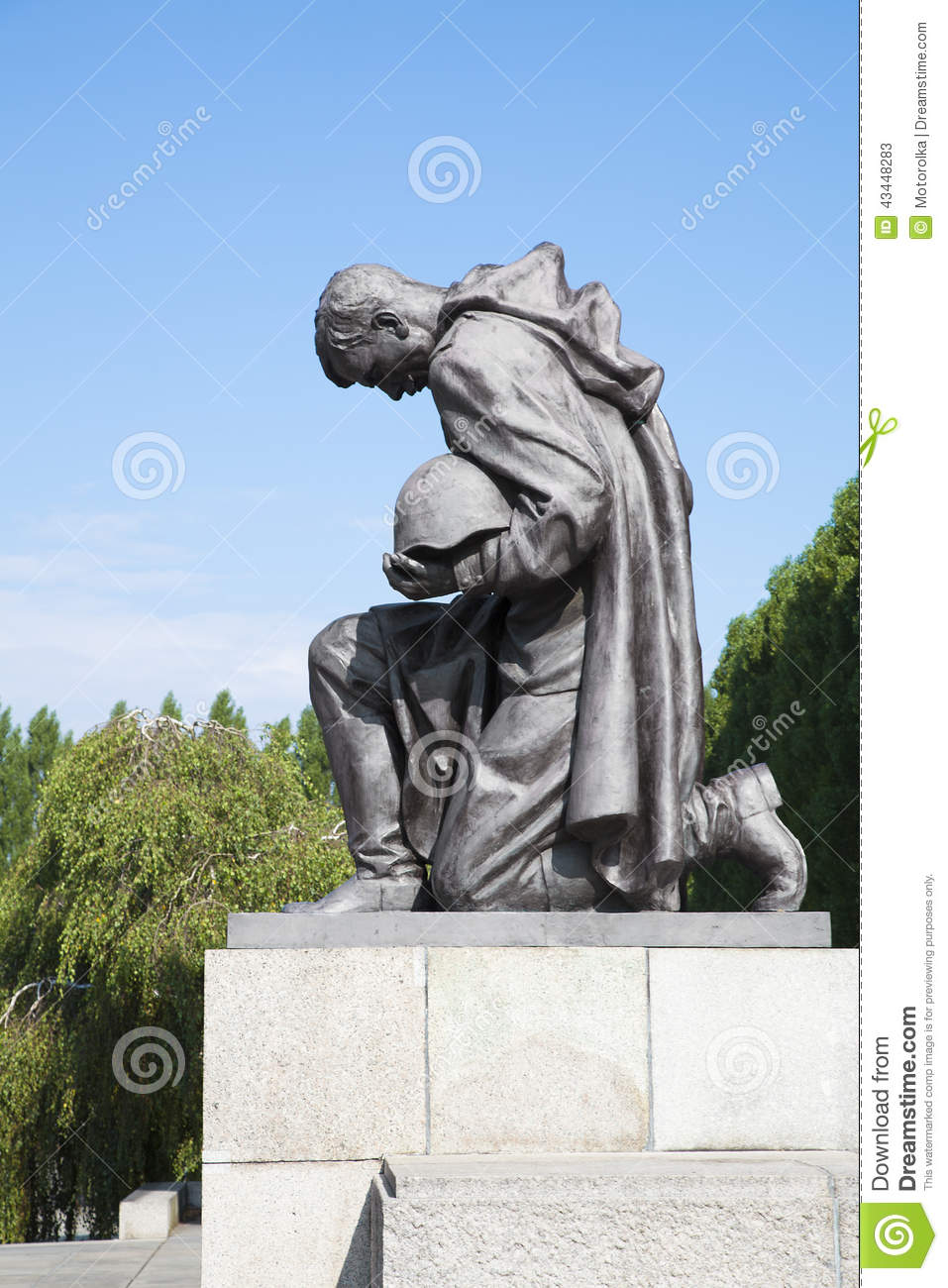 Soviet War Memorial, Treptower Park Stock Image.