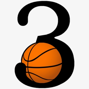 Three Point Shot Basketball Clipart.