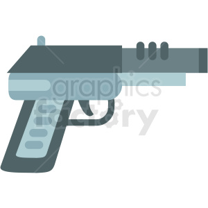 game pistol clipart icon . Royalty.
