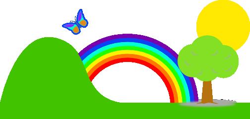 Rainbow clipart 0 5.