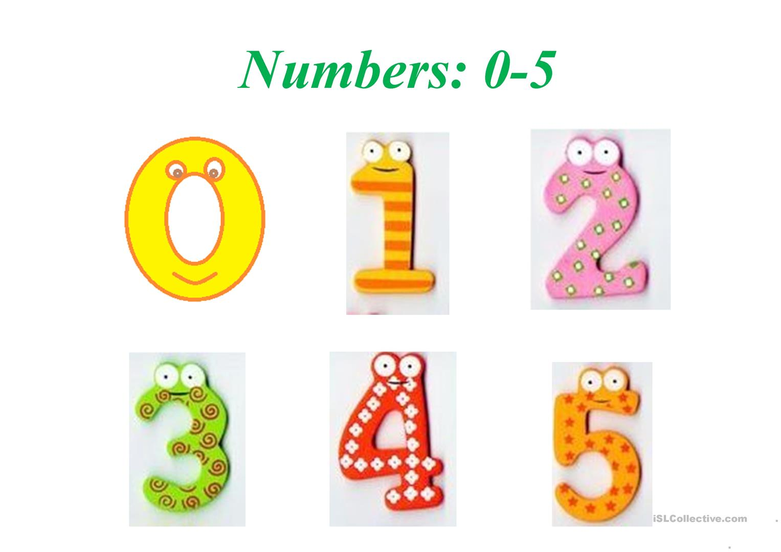 numbers 0.