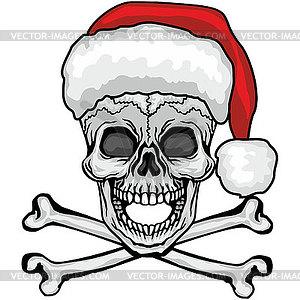 Christmas skull 0.