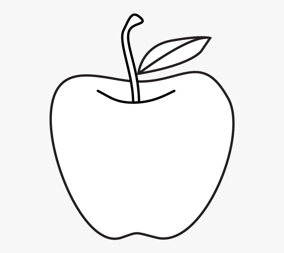 Apples Clipart Black And White.