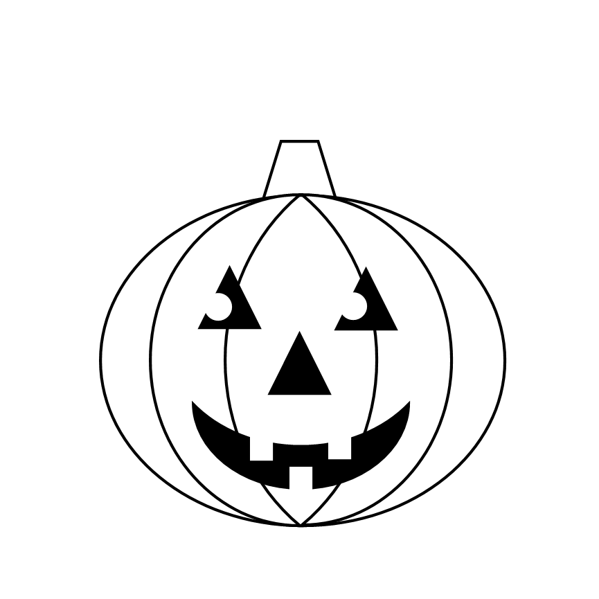 Pumpkin black and white pumpkin clipart black and white 0.