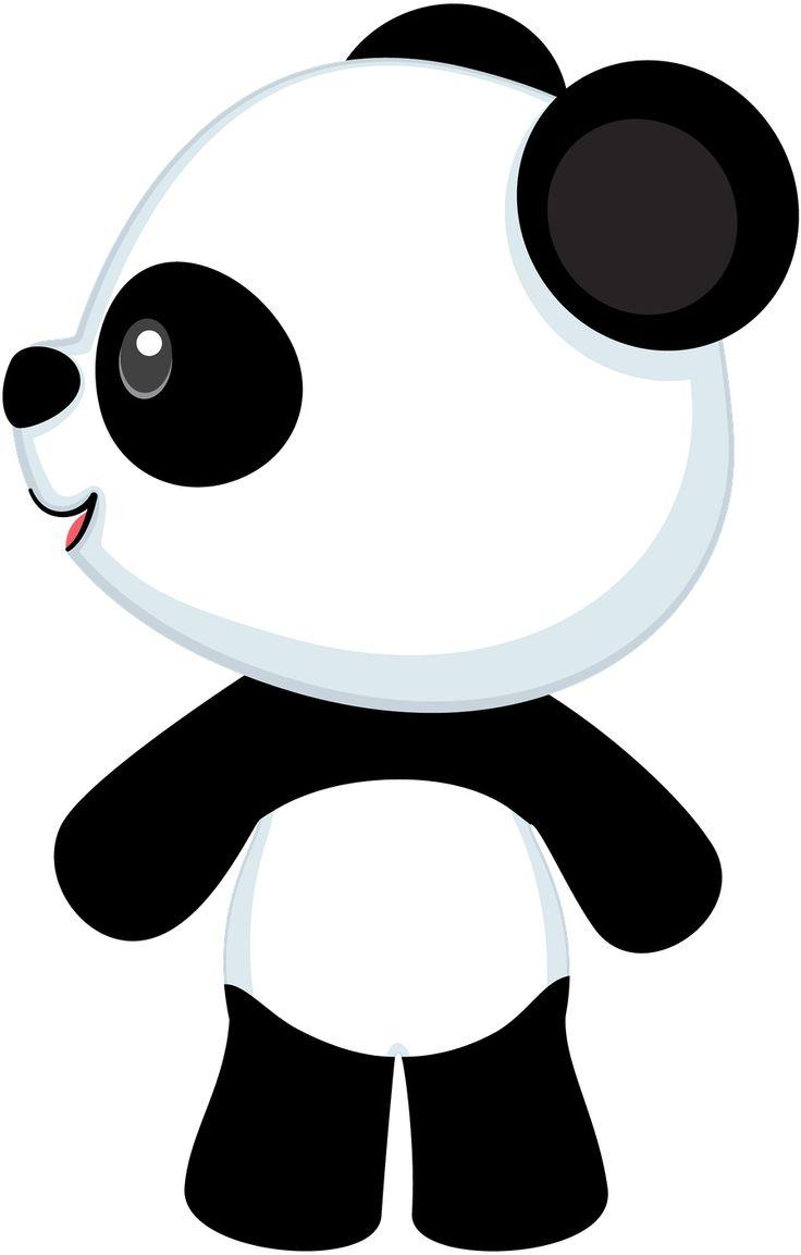 Clipart 239, Panda Bears.