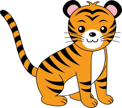 Tiger Clip Art.