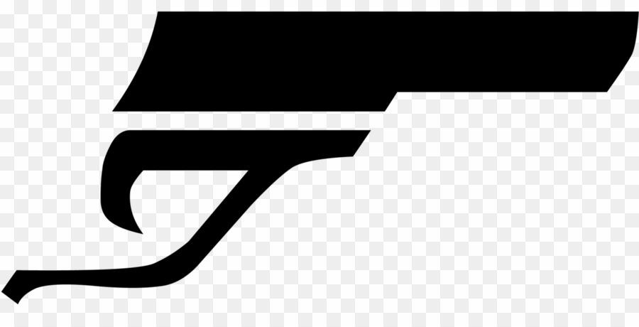 007 Gun Logo PNG James Bond Gun Barrel Sequence Clipart download.