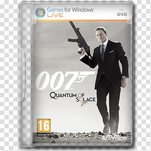 Game Icons , Quantum of Solace transparent background PNG.