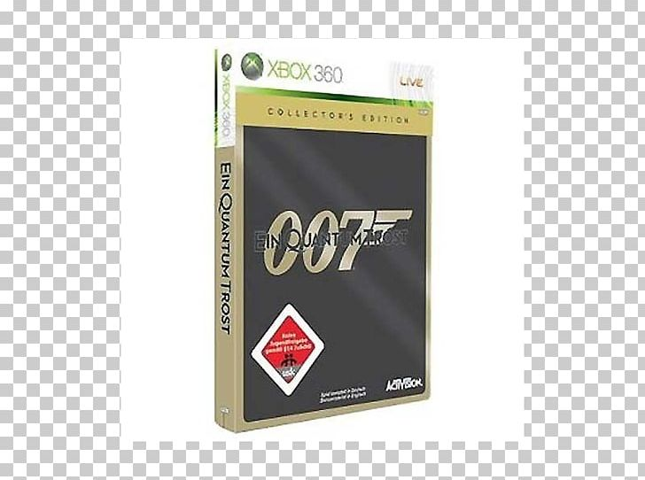 007: Quantum Of Solace Xbox 360 GoldenEye 007 James Bond 007.
