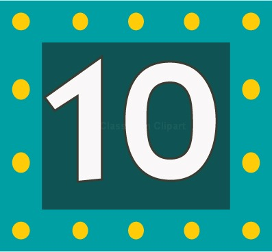 Number 10 Clip Art, Download Free Clip Art on Clipart Bay.
