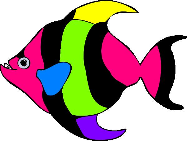 Peixe Listrado 02 Clip Art at Clker.com.