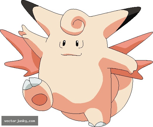 Vector Download » pokemon 036.