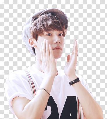Jinwoo transparent background PNG clipart.