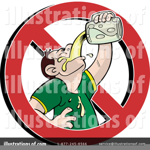 Free No Alcohol Clipart.
