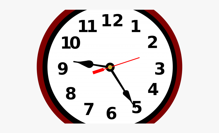 Clock Clipart School.