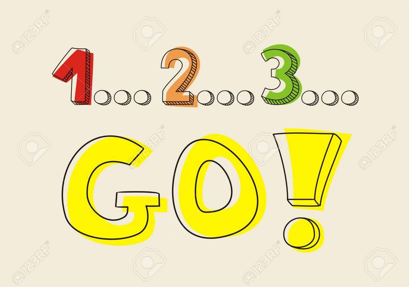 Countdown 1 2 3 go!.