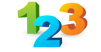 1 2 3 Png 4 Vector, Clipart, PSD.