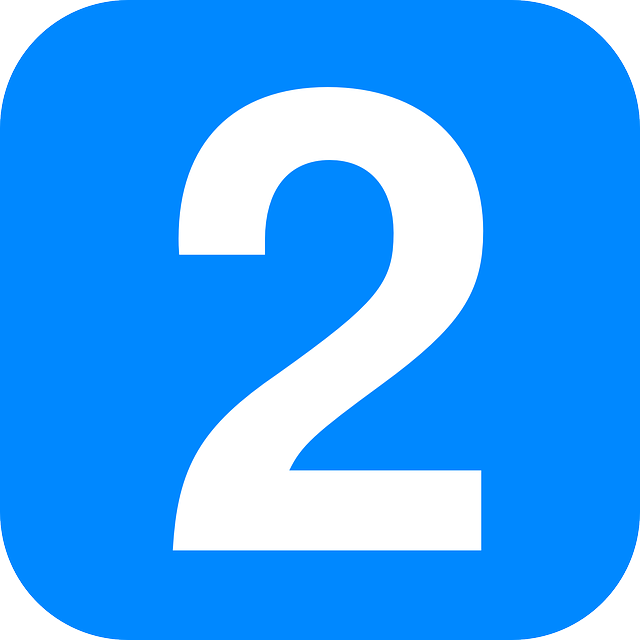 Number 2 PNg Transparent Image Icon Free #13.