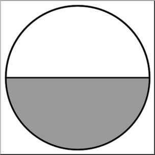 Clip Art: Rectangle02 1/2 Color I abcteach.com.
