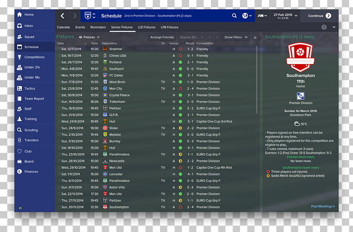 Football Manager 2018 Formation 4.