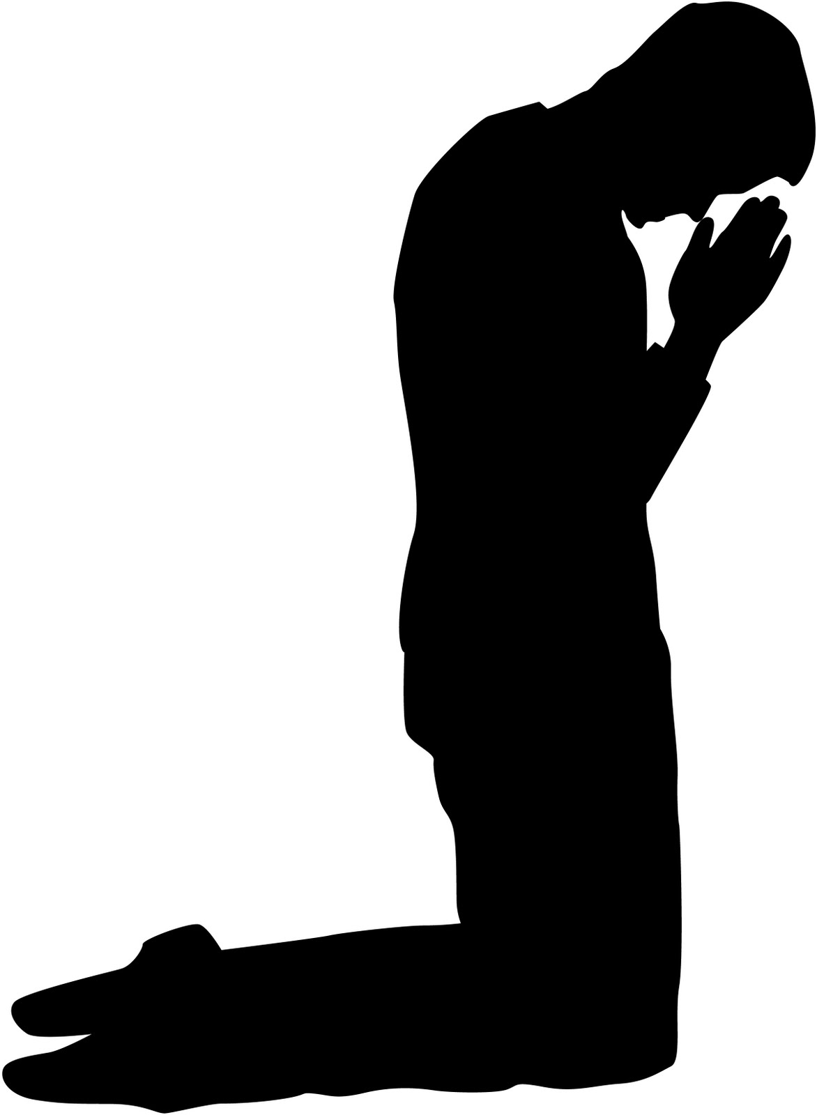 Free Kneeling In Prayer, Download Free Clip Art, Free Clip.