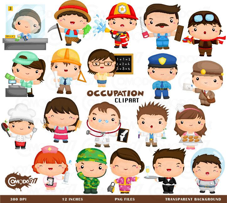 Job and Occupation Clipart.